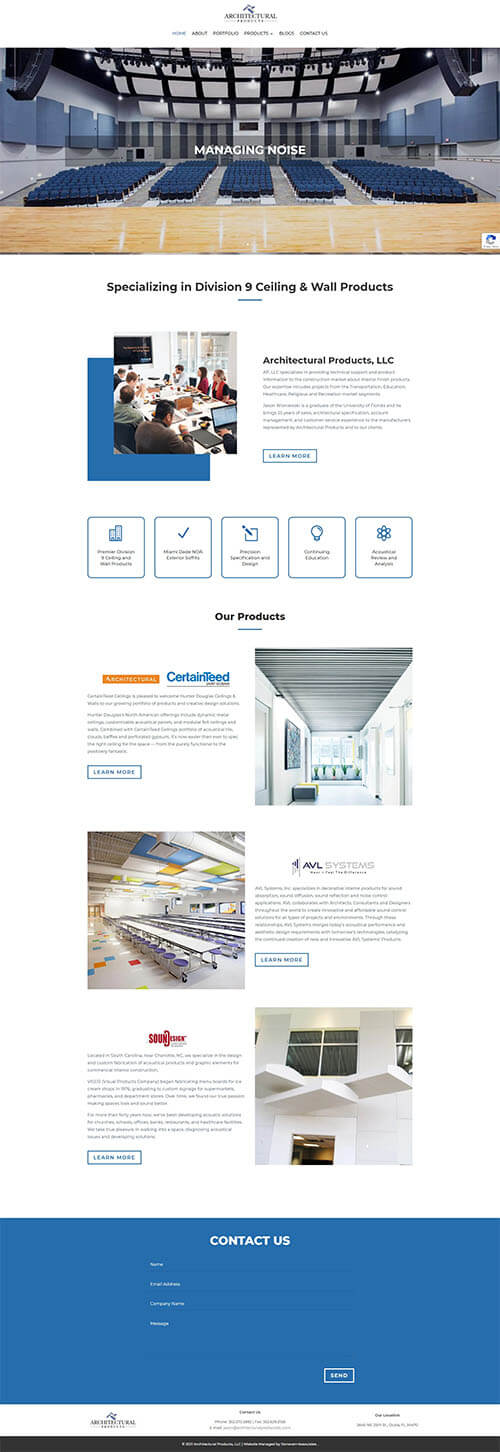 Architectural Products LLC Site